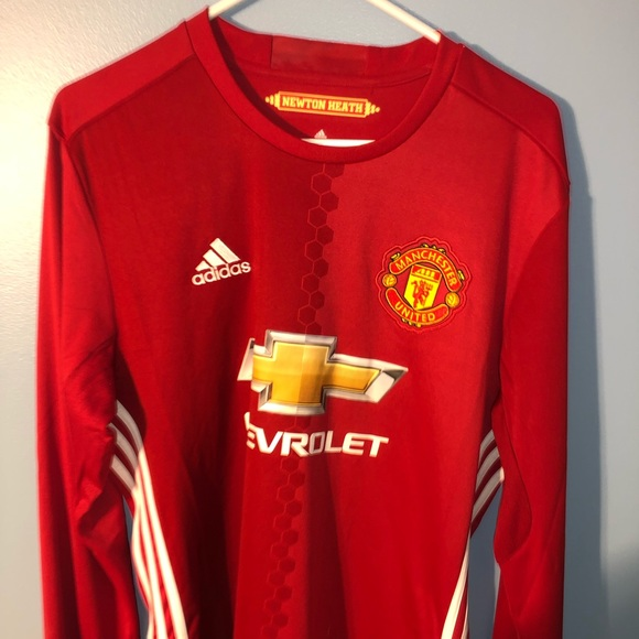 superior quality 9c5af 293a8 Manchester United Home long sleeve jersey